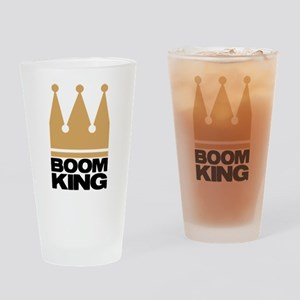BOOMKING4 Drinking Glass