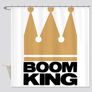 BOOMKING4 Shower Curtain