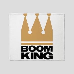 BOOMKING4 Throw Blanket