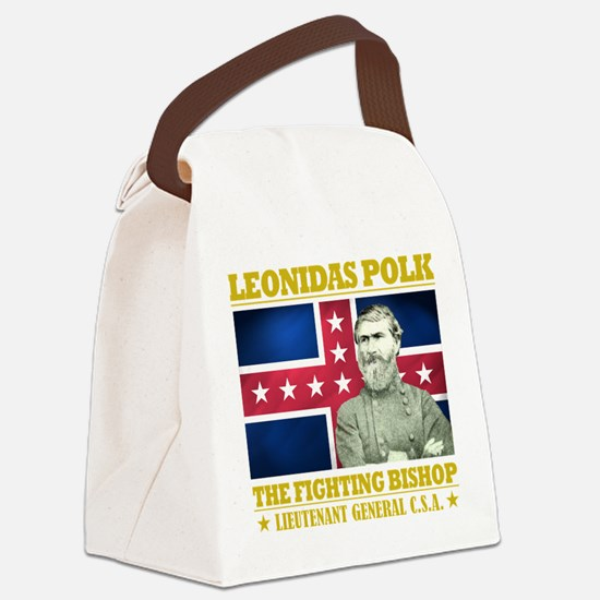The Fighting Bishop.png Canvas Lunch Bag