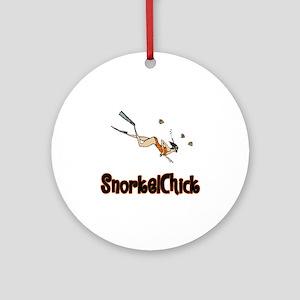 SnorkelChick Logo Ornament (Round)