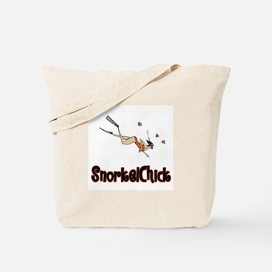 SnorkelChick Logo Tote Bag
