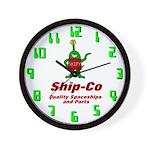 Ship-Co Wall Clock