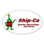 Ship-co Oval Sticker