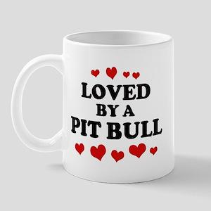 Loved: Pit Bull Mug