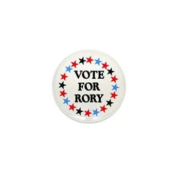 Vote For Rory Mini Button (10 pack)