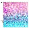 Pastel glitter Shower Curtain