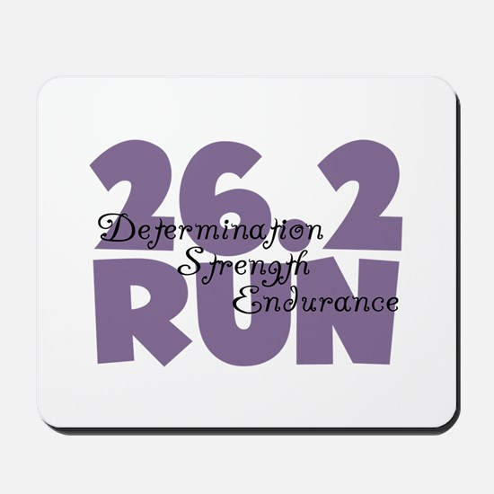 26.2 Run Purple Mousepad