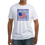 God Bless America 2 Fitted T-Shirt