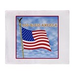 God Bless America 2 Throw Blanket