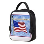 God Bless America 2 Neoprene Lunch Bag