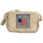 God Bless America 2 Messenger Bag