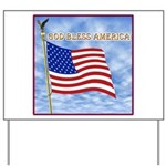 God Bless America 2 Yard Sign