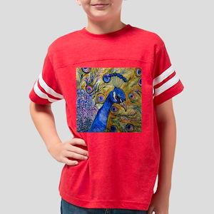princePeacockHR Youth Football Shirt