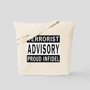 Terrorist Advisory Tote Bag