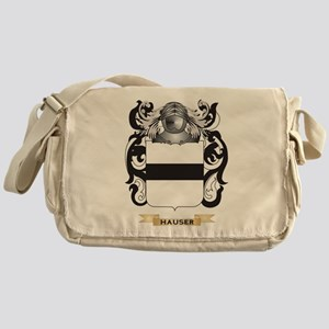Hauser-2 Coat of Arms (Family Crest) Messenger Bag