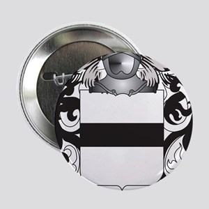 "Hauser-2 Coat of Arms (Family Crest) 2.25"" Button"
