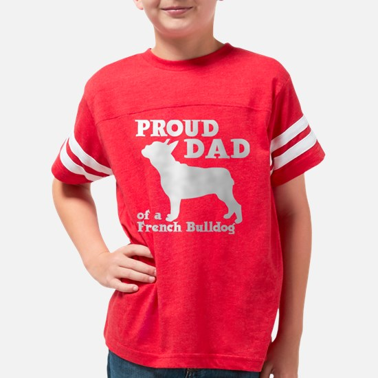FRENCHIE DAD Youth Football Shirt