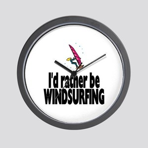 I'd rather be Windsurfing! Wall Clock