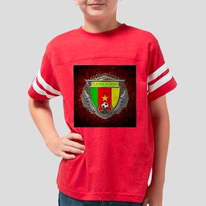 Cameroon Soccer Keepsake Box Youth Football Shirt