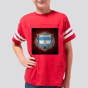 Argentina Soccer Keepsake Box Youth Football Shirt