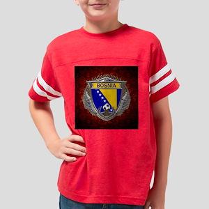 Bosnia Soccer Keepsake Box Youth Football Shirt