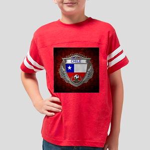 Chile Soccer Keepsake Box Youth Football Shirt