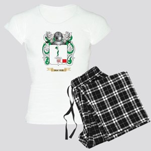Hayes Coat of Arms (Family Crest) Pajamas