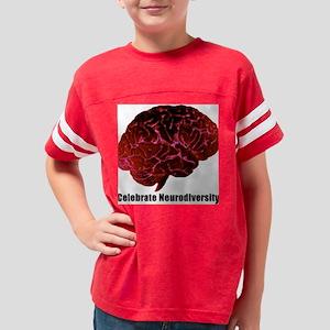 whtredbrain t-shirt Youth Football Shirt