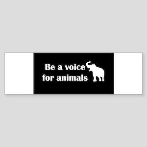 beavoiceblack Bumper Sticker