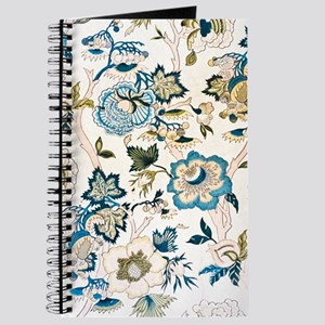 1890's Antique floral Wallpaper Journal