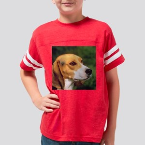 Cute Beagle Youth Football Shirt