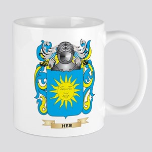 Heb Coat of Arms (Family Crest) Mug