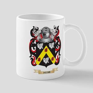 Hebb Coat of Arms (Family Crest) Mug