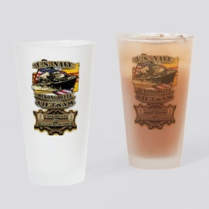 Navy Vietnam Mekong Delta Drinking Glass