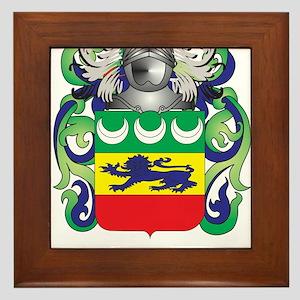 Heffernan Coat of Arms (Family Crest) Framed Tile