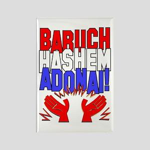Baruch HaShem! Rectangle Magnet
