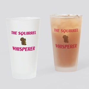 The Squirrel Whisperer Drinking Glass