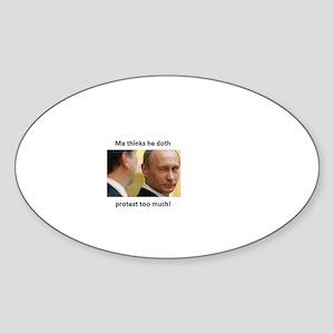 Putin's closet. Sticker