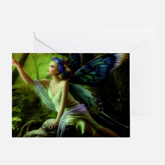 Forest Faerie Greeting Card