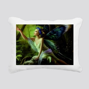 Forest Faerie Rectangular Canvas Pillow