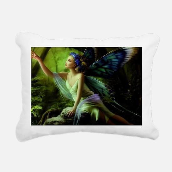 Forest Faerie Rectangular Canvas Pillow