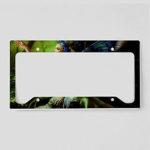 Forest Faerie License Plate Holder