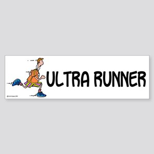 Ultra Runner II Bumper Sticker