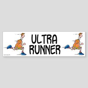 Ultra Runner Bumper Sticker