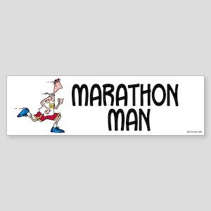 Marathon Man Bumper Sticker
