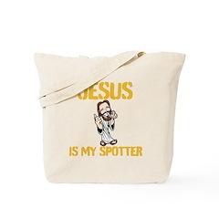 Jesus is my spotter Tote Bag
