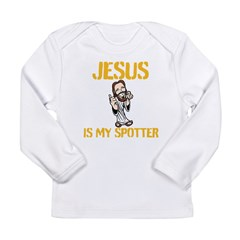 Jesus is my spotter Long Sleeve T-Shirt
