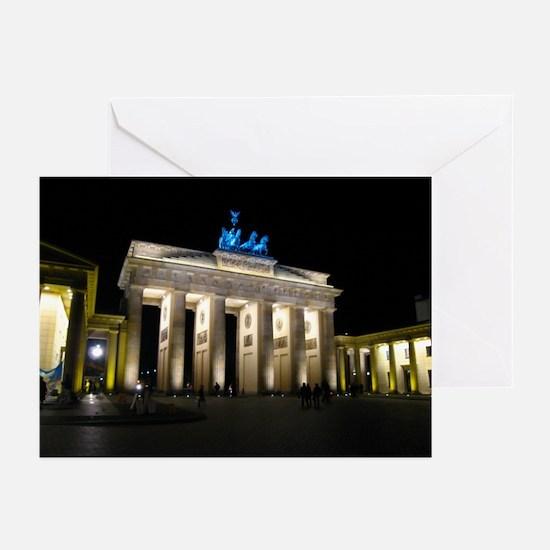 Brandenburg Gate Greeting Cards (Pk of 10)