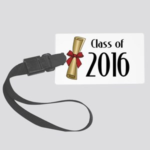 Class of 2016 Diploma Large Luggage Tag